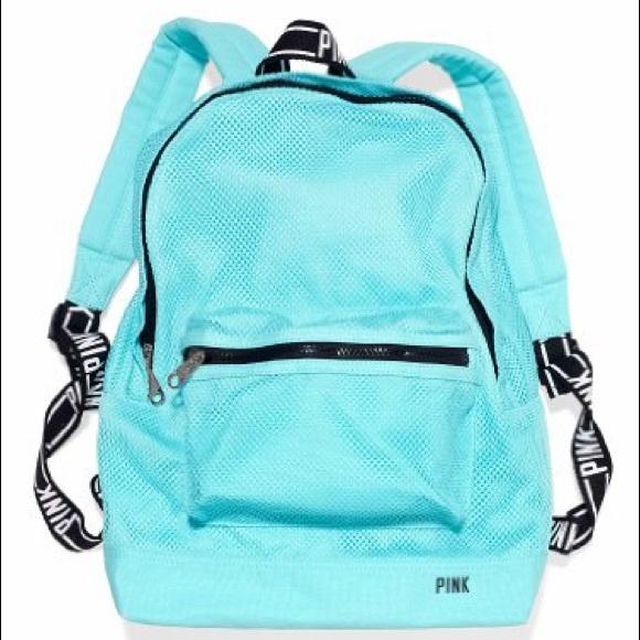 16d6a1beccdde PINK by Victoria Secret Mesh Backpack